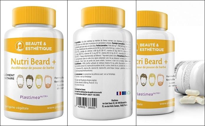 Accélérateur de pousse de barbe NUTRI BEARD