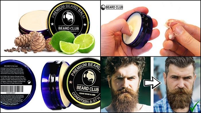 Baume à barbe de haute qualité BEARD CLUB