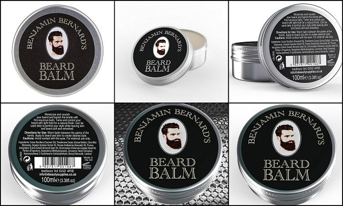 Baume luxueux pour barbe BENJAMIN BERNARD