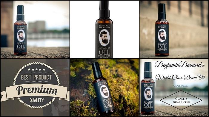 Huile hydratante pour barbe BENJAMIN BERNARD
