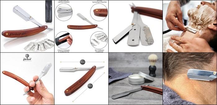 Rasoir traditionnel en acier EBERBART