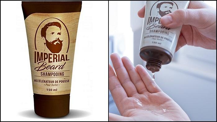 Shampoing accélérateur de pousse de barbe IMPERIAL BEARD