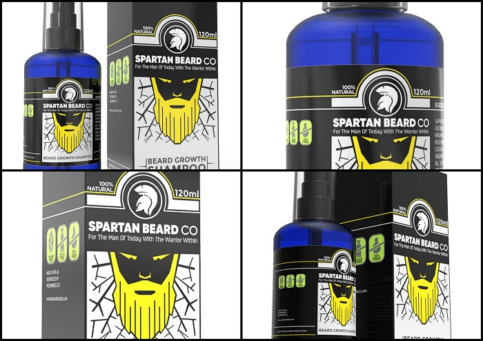 Shampooing à barbe SPARTAN BEARD CO