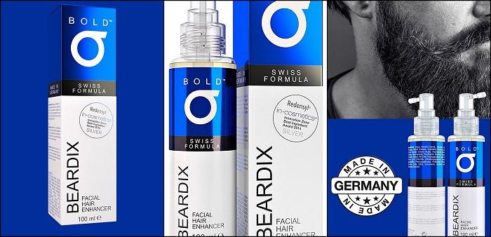 Spray accélérateur de pousse de barbe BEARDIX