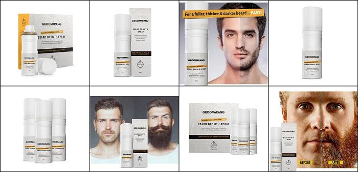 Spray à barbe accélérateur de pousse GROOMARANG
