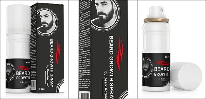 Spray croissance 100% à base de plantes BEARDACTIVE
