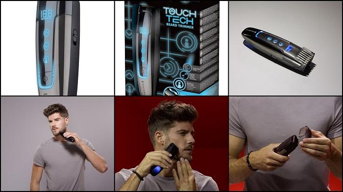 Tondeuse à barbe tactile intuitive REMINGTON MB4700