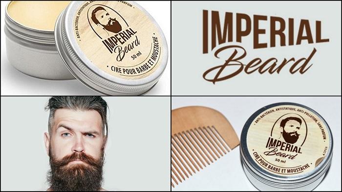 Cire hydratante pour barbe et moustache IMPERIAL BEARD