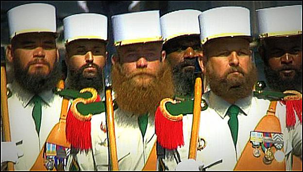 Pourquoi la barbe dans la légion étrangère ?