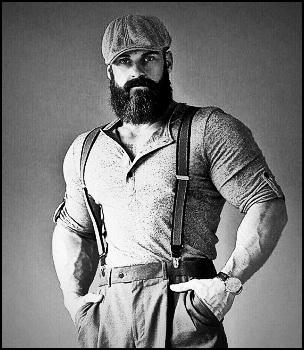 Taux de testostérone et croissance de la barbe
