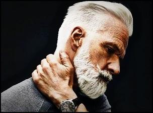 Poils de barbe gris : un gène en cause ?