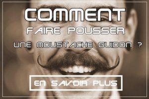 Comment faire pousser une moustache guidon ?