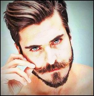 Compter environ un mois pour que vos poils de moustache recouvrent votre lèvre supérieure.