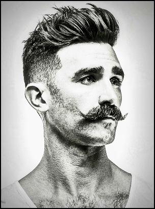 Une moustache de conquête et de pouvoir