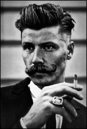 L'histoire de la moustache en guidon