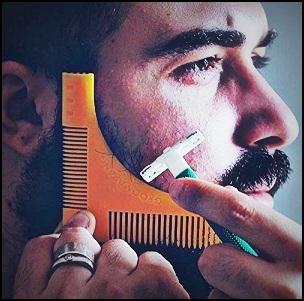 Pochoir à barbe : taillez votre barbe comme un pro !