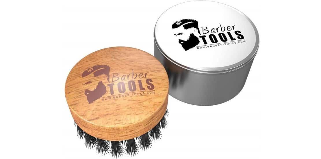 Brosse à barbe en poils de sanglier Barber Tools