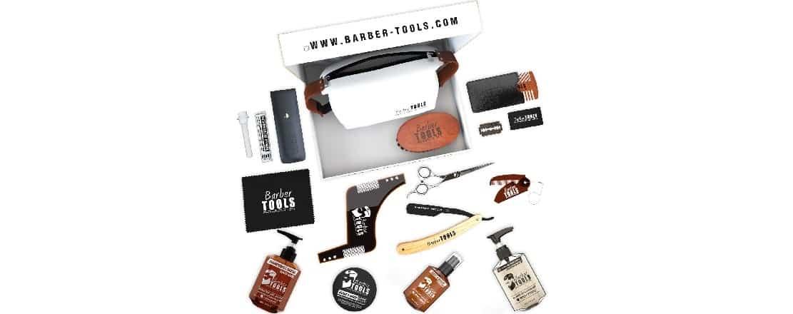 Coffret d'entretien pour la barbe Barber Tools