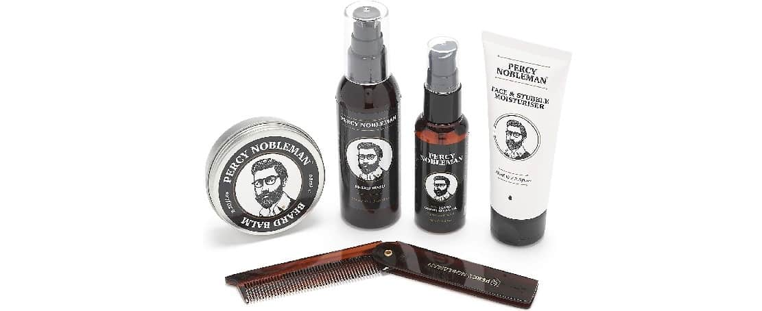 Coffret d'entretien pour la barbe Percy Nobleman
