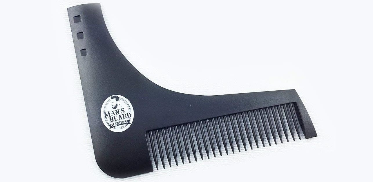 Pochoir à barbe Man's Beard
