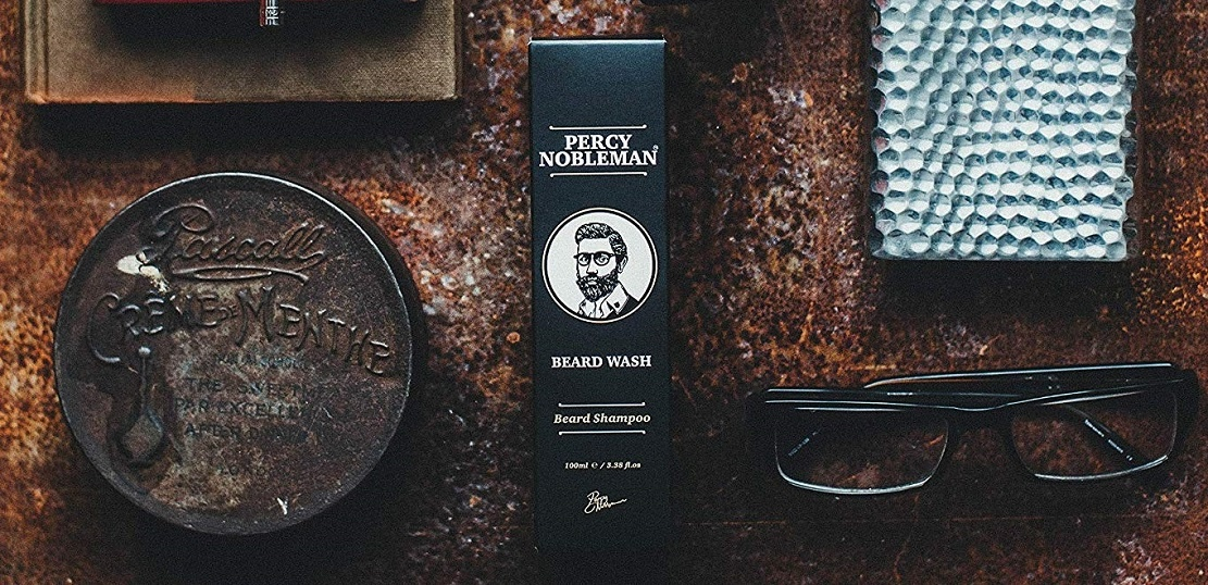 Shampoing à barbe Percy Nobleman