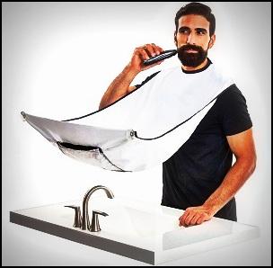 Qu'est-ce qu'un bavoir à barbe (ou tablier à barbe) ?