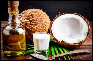 L'huile de noix de coco pour une barbe resplendissante